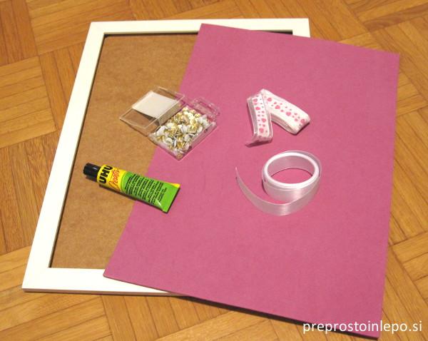 okvir za nakit material