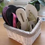 Shranjevanje spomladansko poletne obutve