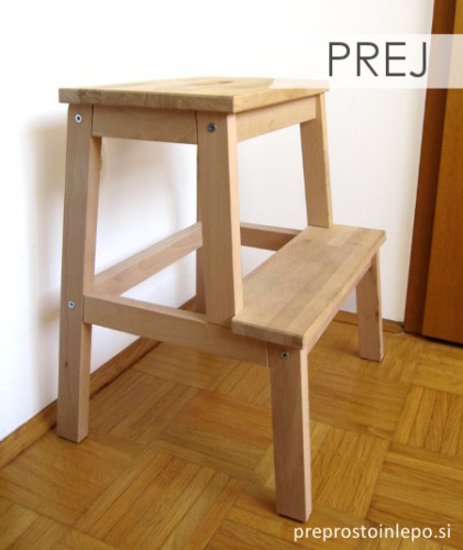 Ikea pručka prej final