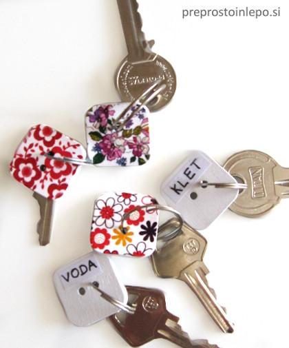 označevanje ključev
