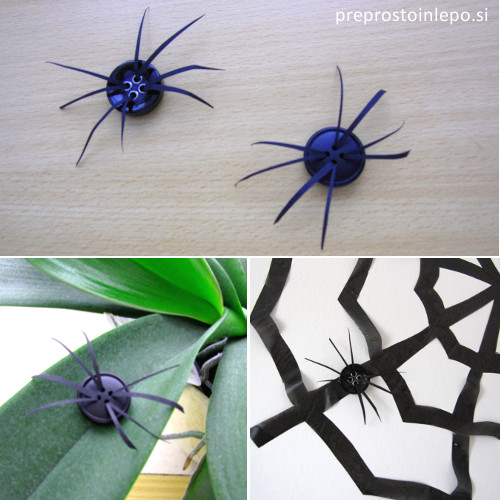 pajki iz gumbov