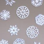 Papirnate snežinke
