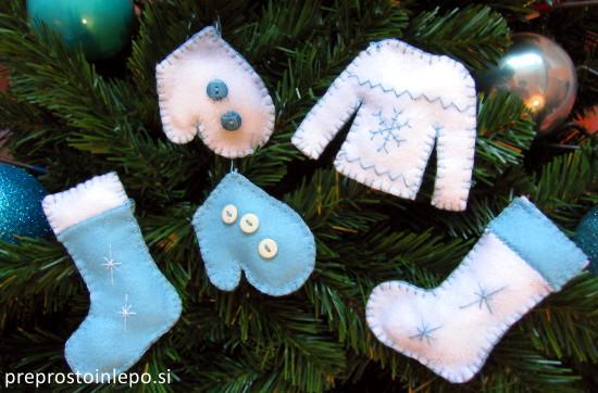 božični okraski iz filca4