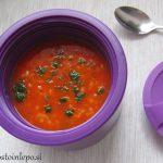 Paradižnikova juha s proseno kašo