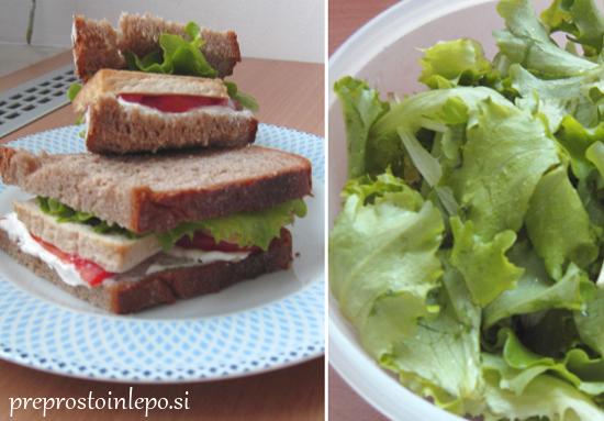 sendvič s tofujem