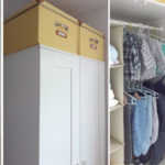 Nekoč moja, danes otroška garderobna omara