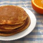 Jogurtove palačinke s pomarančo in cimetom
