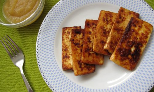 Sladek tofu iz ponve